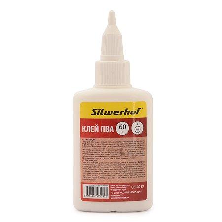 Клей Silwerhof ПВА Silwerhof 433034-60 60гр морозоустойчивый