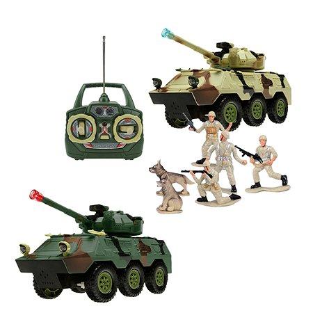 Транспортер  р/у Play Smart с набором солдат(зв. эфф.)