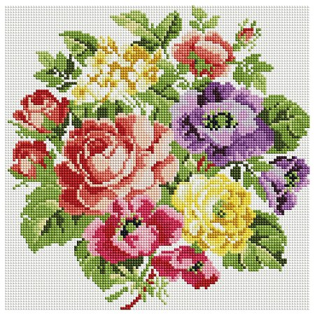 Набор для творчества Белоснежка 062-ST-S Вальс цветов