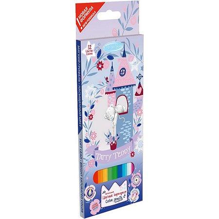 Карандаши цветные Kinderline Me To You 12цветов MYFB-US1-P-12