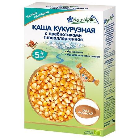 Каша Fleur Alpine безмолочная кукурузная с пребиотиками гипоаллергенная 175г с 5мес