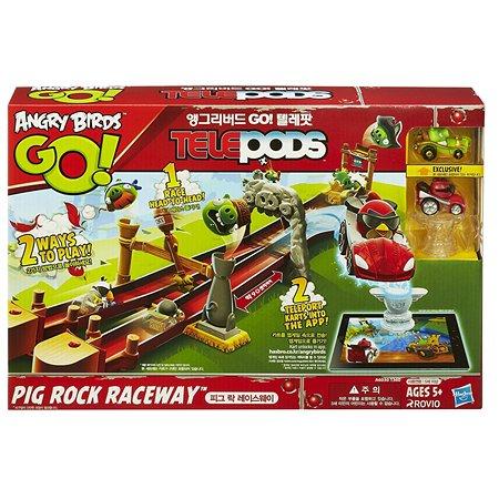 Большой игровой набор Angry Birds Go! Telepods Свинки