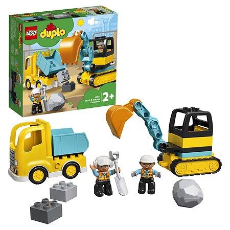 Конструктор LEGO DUPLO Грузовик и гусеничный экскаватор 10931