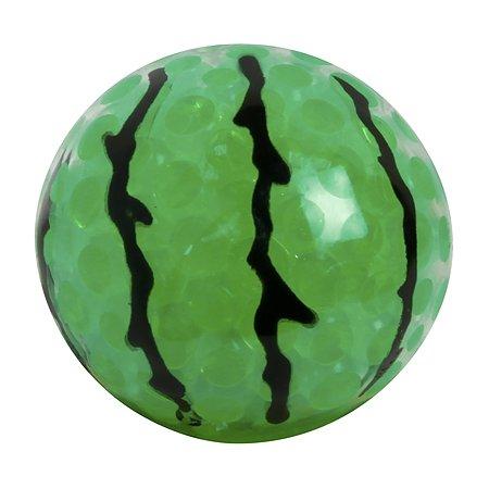 Игрушка 1TOY Мелкие пакости Жмяка Арбуз с шариками Т12453