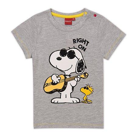 Футболка Snoopy серая