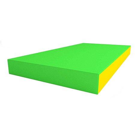 Щит мягкий ROMANA одинарный Зелёный-Жёлтый