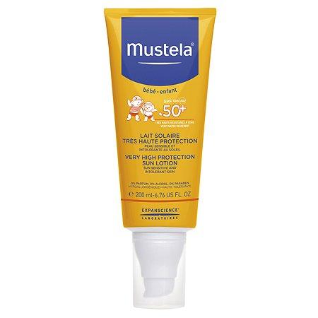 Молочко солнцезащитное Mustela Sun SPF50 200мл 3504105-031541