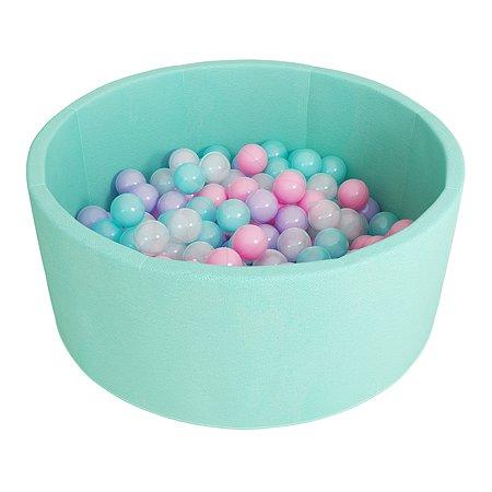 Сухой бассейн ROMANA Бирюзовый с шарами