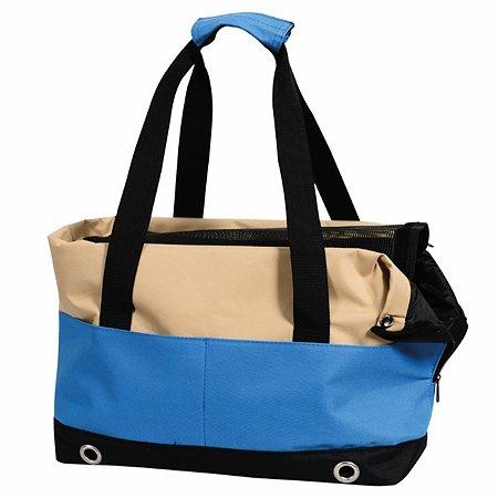 Переноска-сумка Nobby Salta малая Бежевая-Синяя