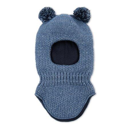Шапка-шлем BabyGo синяя