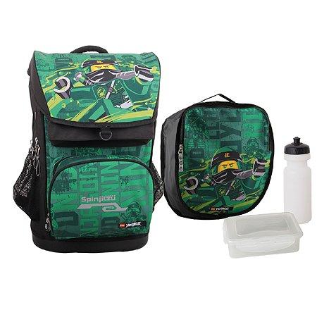 Рюкзак школьный LEGO Ninjago Energy с сумкой для обуви 20017-1908