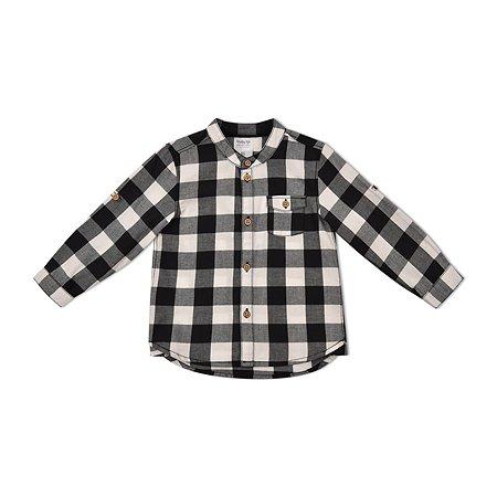 Рубашка BabyGo серая