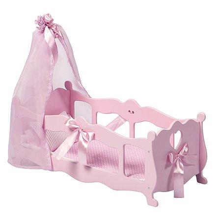 Мебель для кукол PAREMO Кроватка-колыбелька Розовый PFD120-54