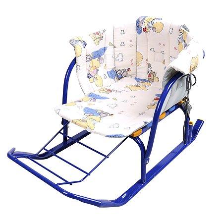 Сиденье для санок Ника с подлокотниками Утята СС2