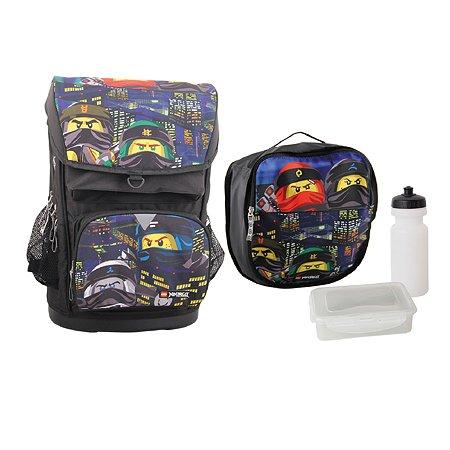 Рюкзак школьный LEGO Ninjago Urban с сумкой для обуви 20017-1910