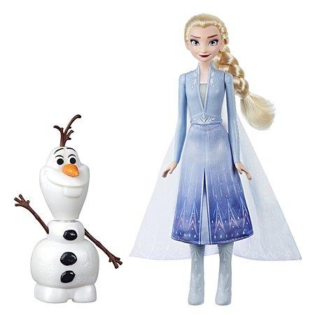 Набор игровой Disney Princess Hasbro Холодное сердце 2 Эльза и Олаф E5508EU4