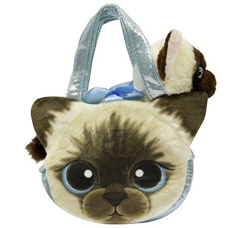 Игрушка мягкая Aurora Кот в сумке 181198A