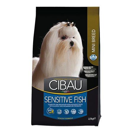 Корм для собак Farmina Сибау сенситив мелких пород рыба 2.5кг
