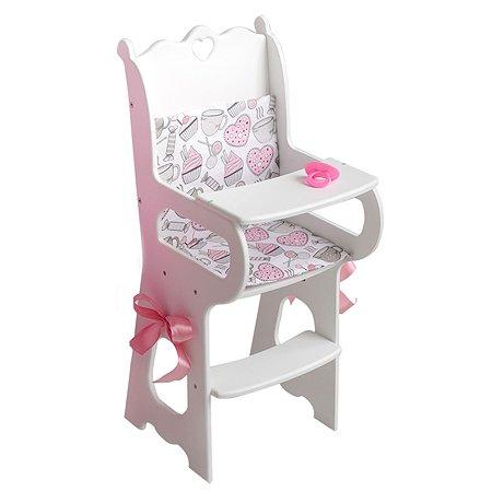 Мебель для кукол PAREMO Стульчик Белый PFD120-56