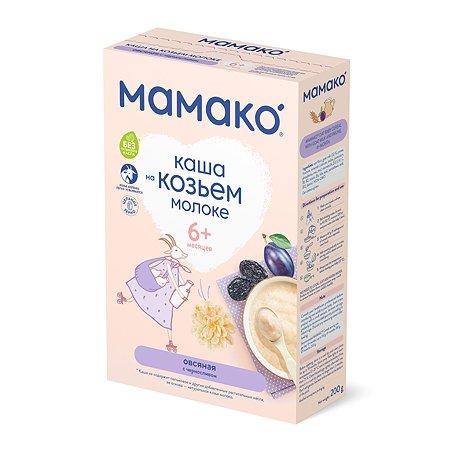 Каша Мамако на козьем молоке овсяная с черносливом 200г с 6месяцев