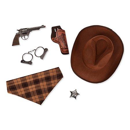 Набор ковбоя Gonher револьвер и шляпа