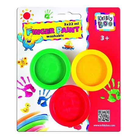 Пальчиковые краски Kribly Boo 3х22 мл
