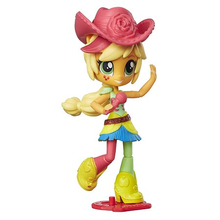 Мини-кукла MLP Equestria Girls My Little Pony Applejack C0866