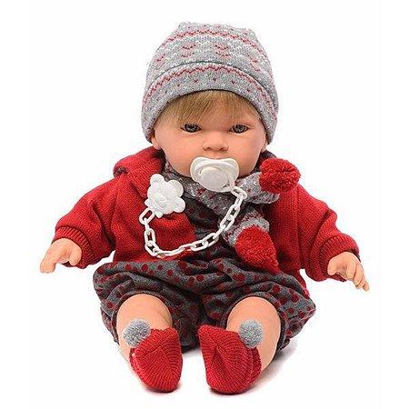 Кукла Llorens Мальчик  42 см (плачет и говорит) в ассортименте