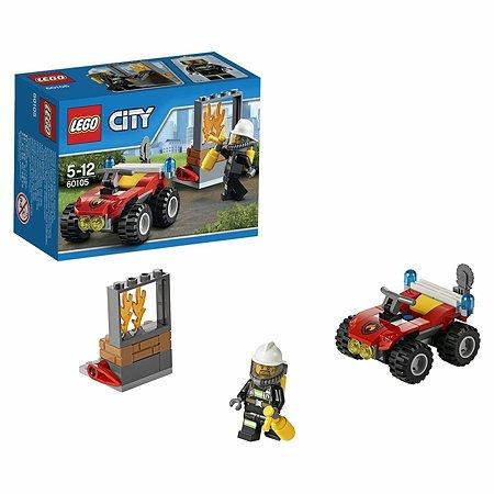 Конструктор LEGO City Fire Пожарный квадроцикл (60105)