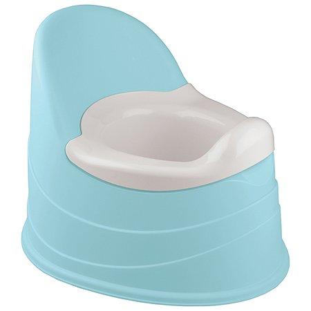 Горшок Пластишка Голубой (431300502)