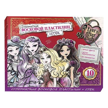 Пластилин Barbie 10цв +стек
