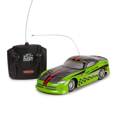 Машинка радиоуправляемая Mobicaro Супер дрифт Неон Зеленая