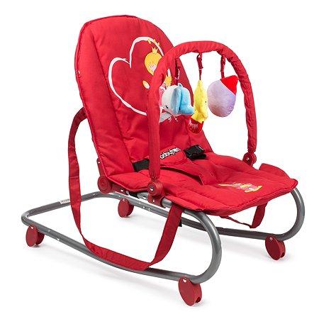 Шезлонг детский Babyton Red G101