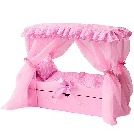 Мебель для кукол PAREMO Кровать Розовый PFD120-60