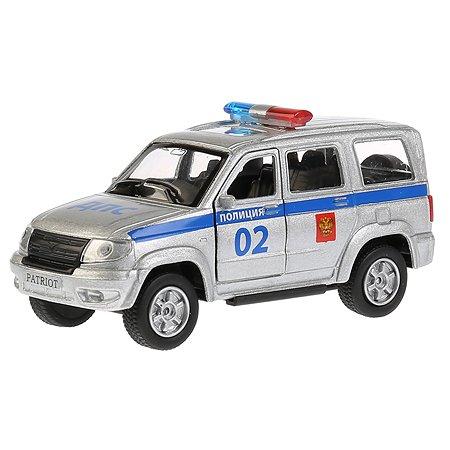 Машина Технопарк УАЗ Patriot Полиция инерционная 266068