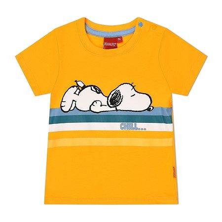 Футболка Snoopy оранжевая