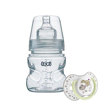 Набор LOVI Medical пустышка+бутылочка 150мл с 0месяцев 510010004