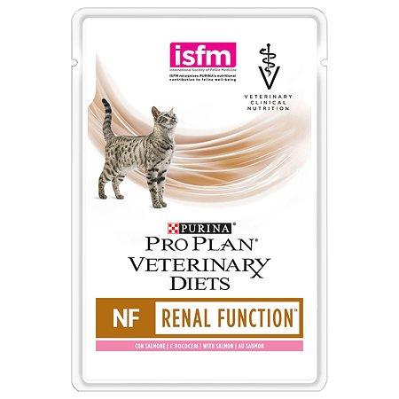 Корм для кошек Purina Pro Plan Veterinary diets NF при заболевании почек лосось 85г