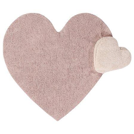 Ковер Lorena Canals Сердце с подушкой Розовый