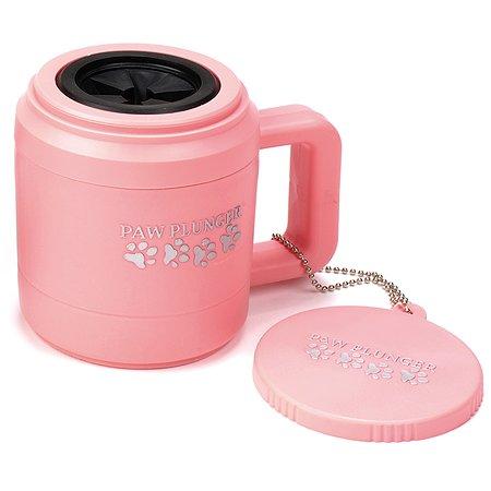 Лапомойка Paw Plunger малая Розовая