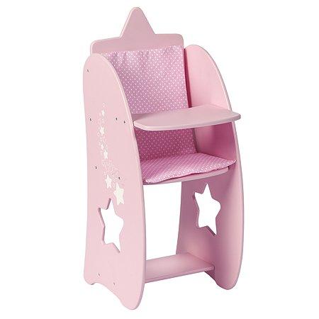 Мебель для кукол PAREMO Стульчик Звездочка Розовый PFD120-64