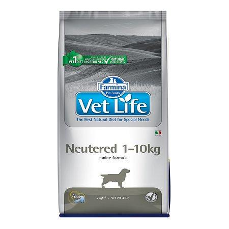 Корм для собак Farmina VetLife стерилизованных мелких пород 2кг