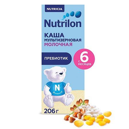 Кашка молочная Nutrilon мультизлаковая 206г