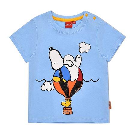 Футболка Snoopy голубая