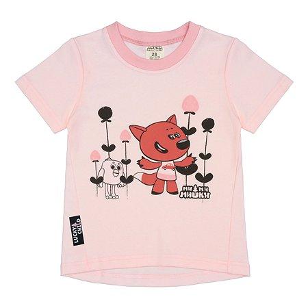 Футболка Lucky Child светло-розовая