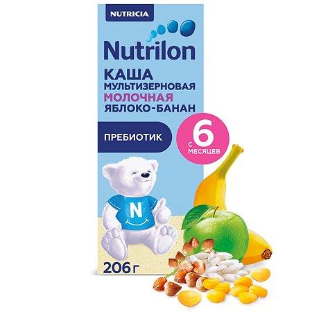 Кашка молочная Nutrilon мультизлаковая с яблоком и бананом 206г
