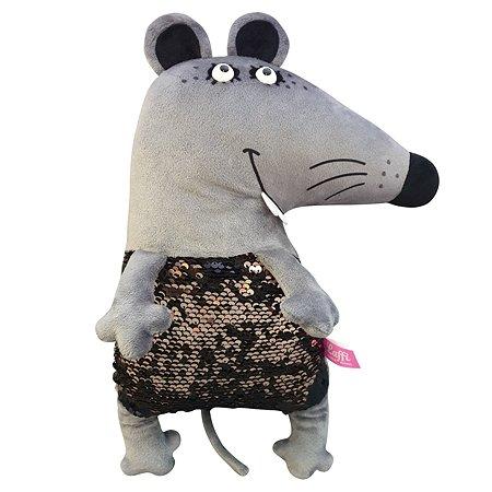 Игрушка мягкая Laffi Мышка Шайни 203