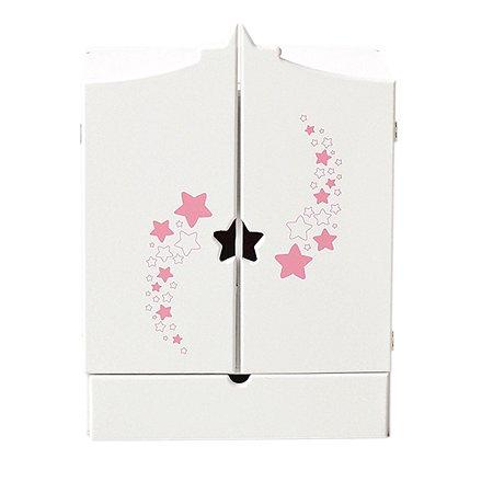 Мебель для кукол PAREMO Шкаф Звездочка Белый PFD120-67