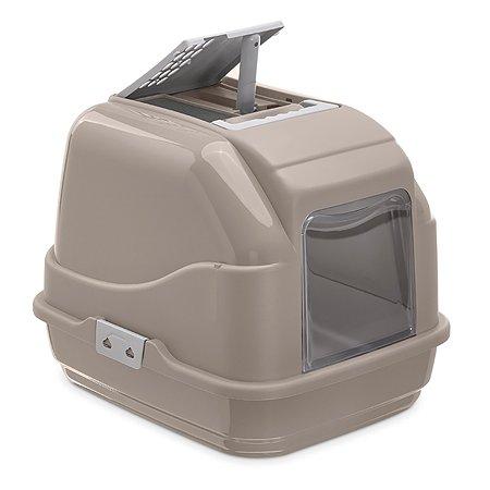 Туалет для кошек IMAC Easy Cat закрытый Серый