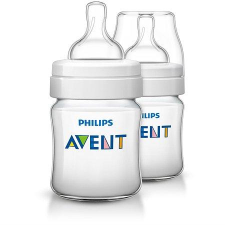 Бутылочка Philips Avent Classic+  0 мес+ 125 мл 2 шт SCF560/27